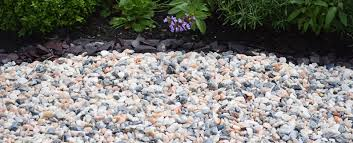 decorative aggregates gravels and chippings rake spar