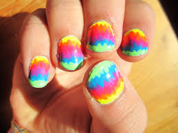 rainbow nail designs nail art design