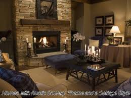 rustic home decorating ideas living room blending rustic and cottage style in home décor cottage style