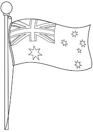 australian flag clip art black white clipart