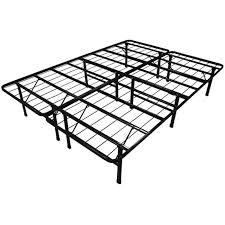 full size duramatic steel foldable metal platform bed frame