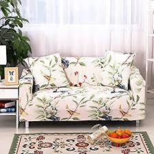 Sofa Covers White by Amazon Com Stretch Anti Slip Couch Covers Anti Wrinkle Sofa