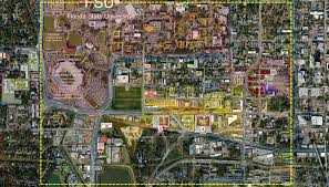Florida State University Campus Map by North American Properties Retail Space Listings