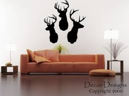 Deer Wall Decor Product Review U0026 Recommendation Deer Head Wall Decals