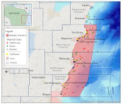 Wisconsin Radar Map by Lake Michigan Could Become Home To National Marine Sanctuary