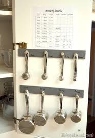 Measuring Cabinet Doors Measuring Cups Spoons Stored In Inside Of Cabinet Door Hmmm I
