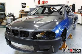 track bmw build vorshlag bmw e46 m3 csl v8 downforce track car