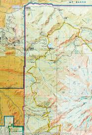 Mount Washington Trail Map by Trail Map Of Mount Rainier National Park Washington 217