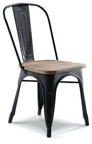 chaise m tal industriel chaise metal industriel chaise de bistrot industrielle en bois m tal