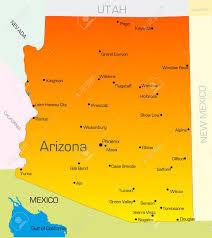 Arizona Counties Map by 153 Arizona Map Vector Cliparts Stock Vector And Royalty Free
