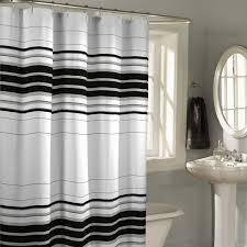 Tweety Bird Shower Curtain Decorating Beautiful Black And White Horizontal Striped Curtains