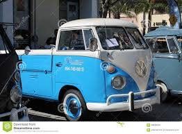 volkswagen microbus old vw microbus parked editorial stock image image of micro