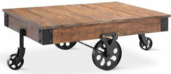 factory cart table diy restoration hardware inspired the indian