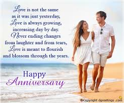 Anniversary Wishes To Daughter And Happy Wedding Anniversary Wishes For Son And Daughter In Law