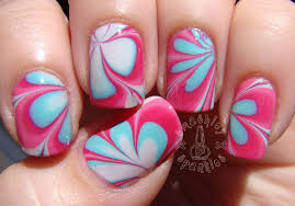 15 water marble nail art designs water marble nails 2 water