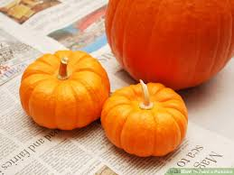 paint pumpkin 10 steps pictures wikihow