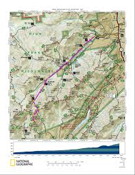 New York Appalachian Trail Map by Mount Haystack