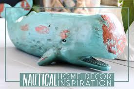 Nautical Home Decorations Nautical Home Decor Inspiration The Diy Lighthouse