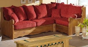 canapé montagne salon d angle style montagne alaska tissu aux choix