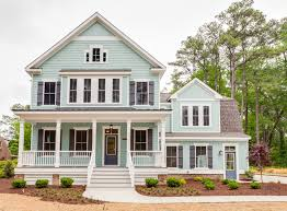 plan 30082rt modern farmhouse with l shaped porch country