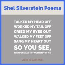 shel silverstein quotes and poems the giving tree