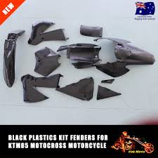 new black plastics fairing full fender for ktm85 ktm 85 2006 2012