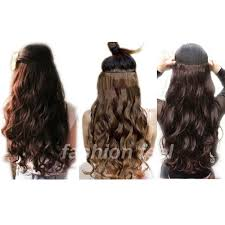 one clip in hair extensions aliexpress buy s noilite 61cm 24 platinum curly