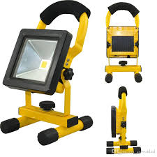 battery powered portable led work lights battery powered portable rechargeable led floodlight 10w 20w 30w 50w