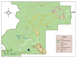 Michigan Orv Trail Maps by Tiger Creek Preserve The Nature Conservancy