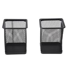Black Wire Mesh Desk Accessories by Online Get Cheap Black Metal Office Aliexpress Com Alibaba Group