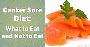 canker sore diet what to eat and not to eat