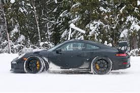 Porsche Gt3 Rs Msrp Porsche 911 Gt3 Rs Spied