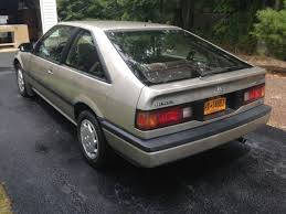 1987 honda accord lxi hatchback honda accord hatchback 1989 seattle silver original hoda color for