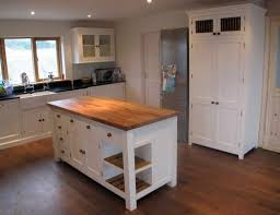 stand alone kitchen island best stand alone kitchen islands homesfeed throughout solid wood