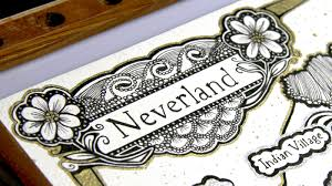 Map Of Neverland Neverland Map On Behance