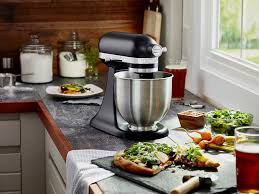 Artisan Kitchenaid Mixer by This Black Matte Mini Mixer By Kitchenaid Is Smaller So It Fits