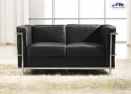 canapé cuir noir 2 places canapé design moderne 3 places 2 places fauteuil cuir noir
