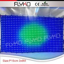 new products led curtain display dmx led light