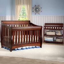 4 In 1 Crib With Changing Table Nursery Decors U0026 Furnitures Convertible Crib With Changing Table