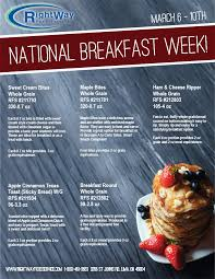 equivalence cuisine rightway food service national breakfast week