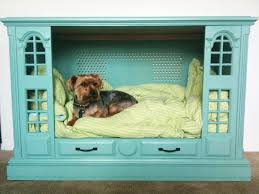 Dog Beds Made Out Of End Tables Homemade Dog Beds Side Table Dog Bed Hide Out Made With Diy Chalk