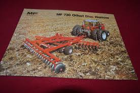 massey ferguson 730 offset disc harrow dealers brochure yabe11