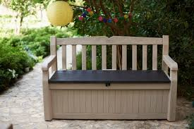 keter eden all weather resin storage bench u0026 reviews wayfair