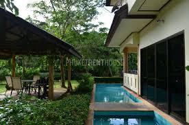 Bedroom Water Feature Nyg8250 Three Bedroom Villa In Nay Yang Beach Phuket Rent House