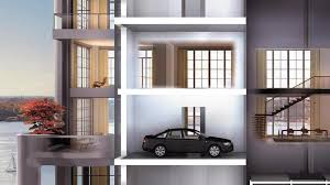 houses with elevators the most outrageous garages