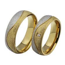 fashion wedding rings images 2018 fashion couple engagement ring for women men sand blasted jpg