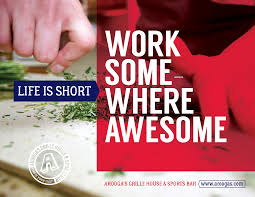kitchen manager job at aroogas grille house u0026 sports bar in
