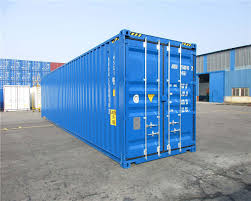 buy a 40ft high cube double door shipping container at caru or rent it