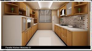Modular Kitchen Images India by Indian Modular Parallel Kitchen Designs Youtube