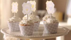 how to cute cupcake dressings for a sunshine baby shower